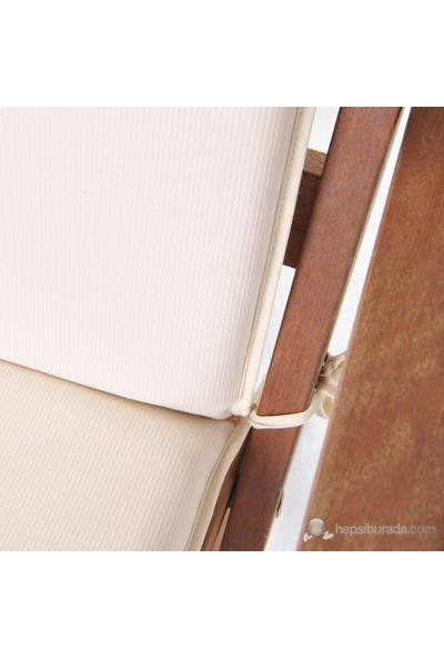 Belde Panama Renkli (40X95x5) 2'Li Mono Krem Minder