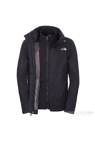 The North Face - Evolve II Triclimate Erkek Mont Siyah