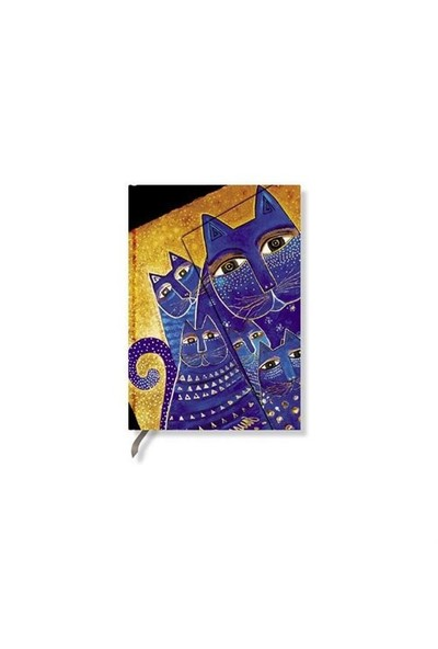 Paperblanks Med. Cats Mini Adres - 95 X 140Mm. 140 Syf 1219-5