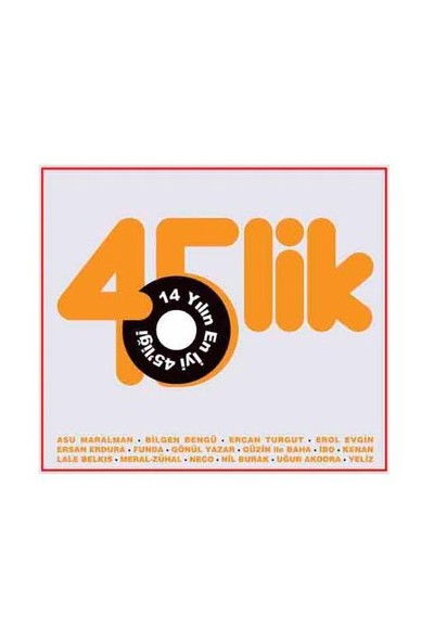 Various Artists - 14 Yılın En İyi 45'liği (CD)
