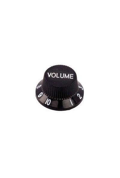 Dr. Parts Pnb1/V-Bk Plastik Volüm Düğmesi Siyah