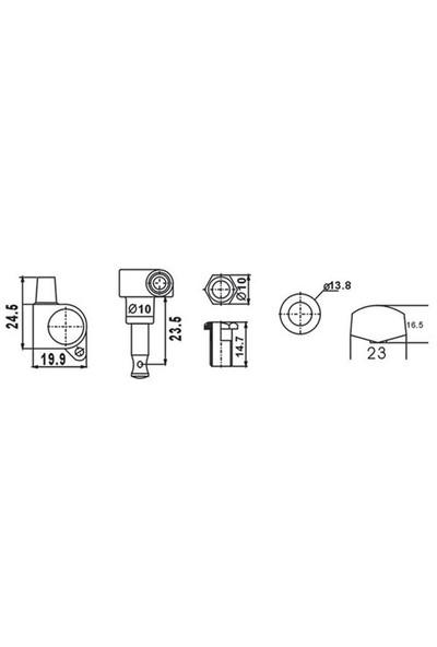 Dr. Parts AMH7001/CR Akustik Gitar Burgusu