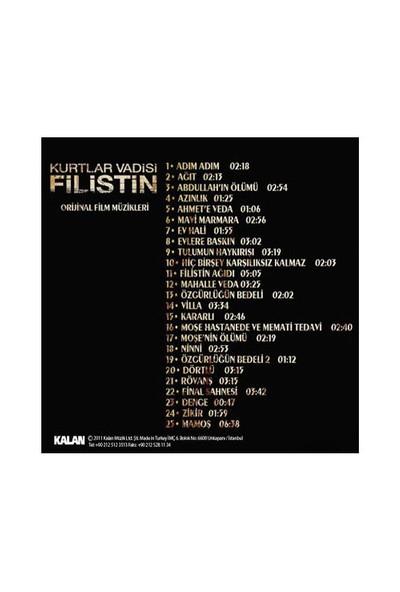 Kurtlar Vadisi Filistin - Film Müzikleri (CD)