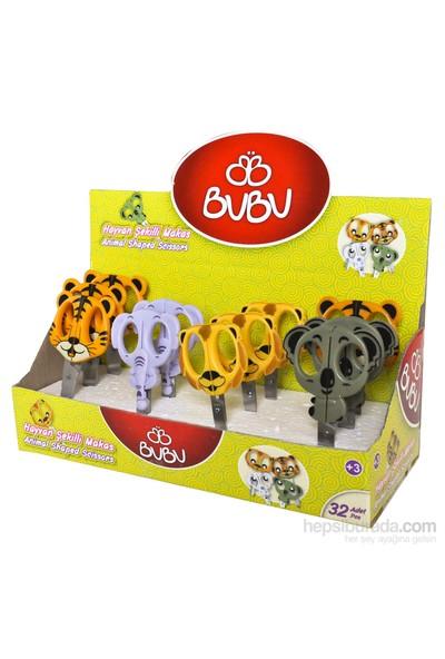 Bu-Bu Hayvanlı Makas 32'Li Bubu-Mk0003