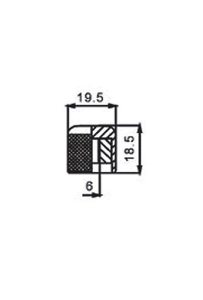 Dr Parts Mnb2Cr Dome (Yuvarlak) Kontrol Düğmesi (Krom)
