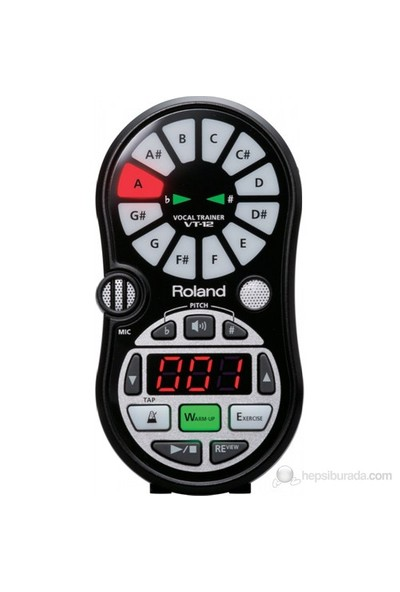 Roland VT-12 BK Vocal Trainer