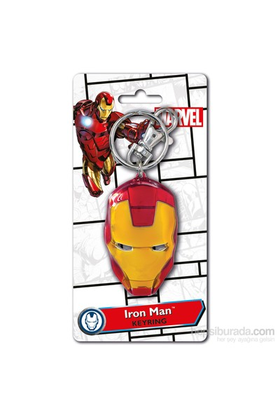 Iron Man Kask (Renkli) Anahtarlık