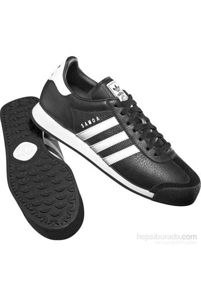 adidas 019351 Samoa Unisex Orıgınals Ayakkabı Beyaz-Siyah