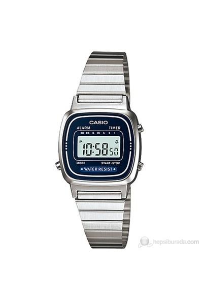 Casio LA670WA-2DF Digital Kadın Kol Saati