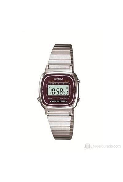 Casio LA670WA-4DF Digital Kadın Kol Saati
