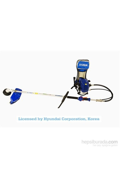 Hyundai HYX55S Motorlu Sırt Tırpan Misina ve Testere Hediyeli