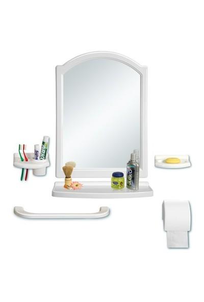 Çelik Ayna CLK104 Star Kubbeli Ayna Seti