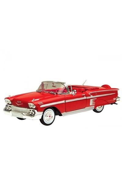 Diecast 1958 Chevy Impala 1/24 Die Cast Model Araç
