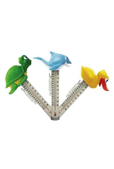 Poollıne Yüzer Tip Happy Zoo Termometre