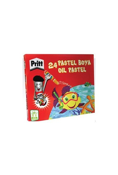 Pritt Pastel Boya Karton Kutu 24 Lü 1307853