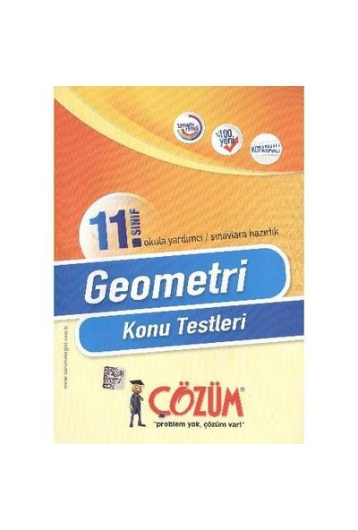 Çözüm 11. Sınıf Geometri K.T.