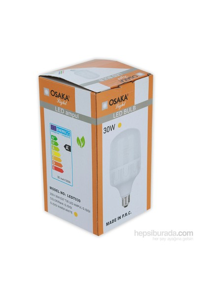 Osakalight 30W-200watt Yüksek Watt Led Ampul E27 Günışığı