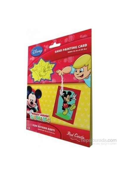Mickey 1 Kum Boyama Kartları-Kolektif