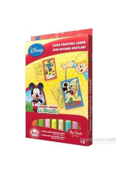 Mickey 3 Kum Boyama Kartları