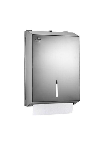 Rulopak Paslanmaz 400'lü Z-Katlama Kağıt Havlu Dispenseri