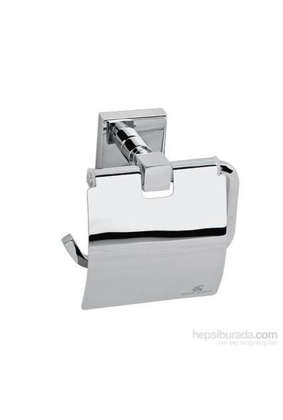 Saray Pirinç Kapaklı Tuvalet Kağıtlığı Alegra