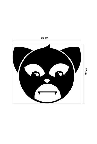 Artikel Kedi Banyo Sticker DP-929