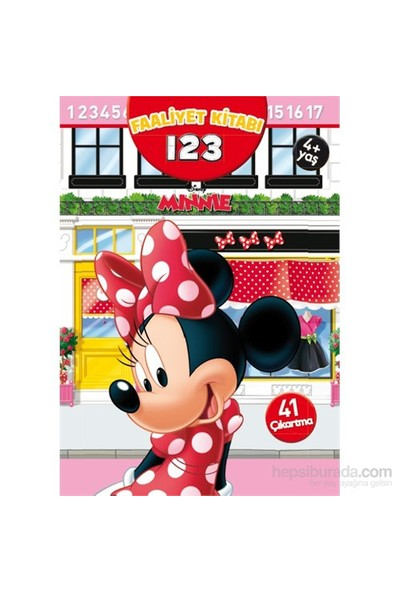 Minnie 123 - Çıkartmalı Faaliyet Kitabı-Kolektif