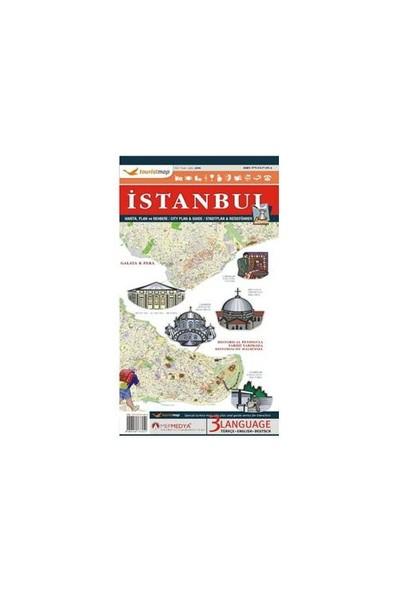 Touristmap İstanbul Harita, Plan ve Rehberi