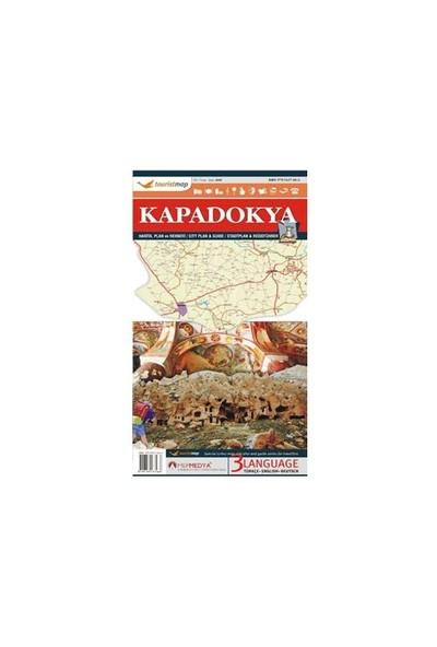 Touristmap Kapadokya Harita, Plan ve Rehberi