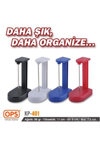 Ops KP401 Kağıt Tutucu (Siyah)