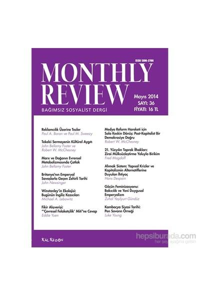 Monthly Review Türkçe – Bağımsız Sosyalist Dergi, 36. Sayı-Kolektif