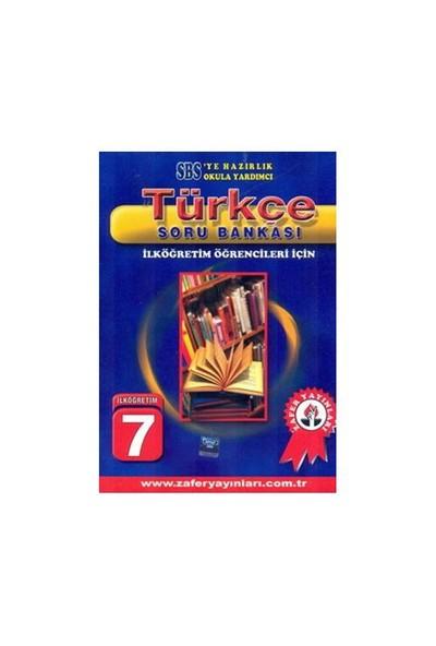 Zafer 7. Sınıf Türkçe Soru Bankası