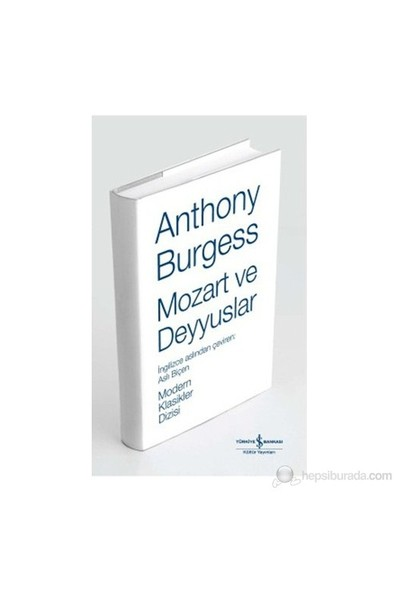 Mozart Ve Deyyuslar (Ciltli)-Anthony Burgess