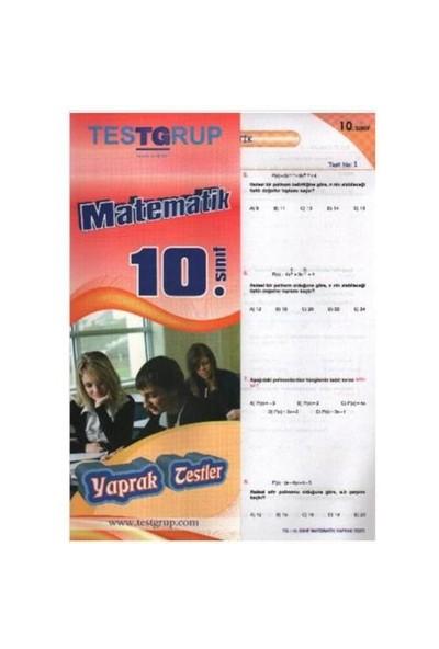 Testgrup Sbs 10. Sınıf Matematik Yaprak Test-Kolektif