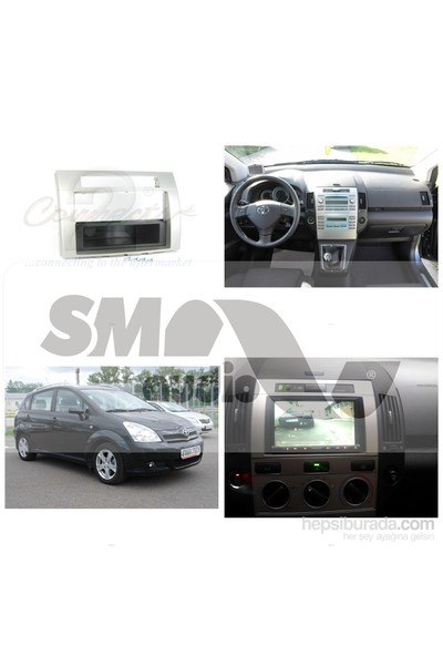 Toyota Verso 2007-2012 Gri Teyp Çerçevesi