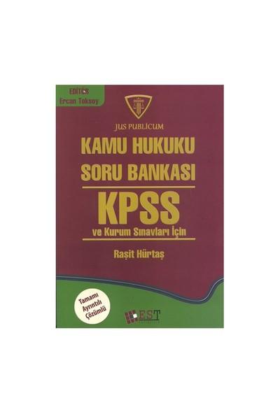 Kamu Hukuku Soru Bankası Kpss Ve Kurum Sınavları İçin Tamamı Ayrıntılı Çözümlü-Raşit Hürtaş
