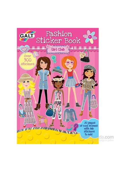 Fashion Sticker Book 4 Yaş+
