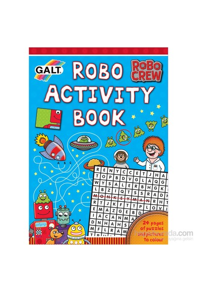 Robo Activity Book 6 Yaş+