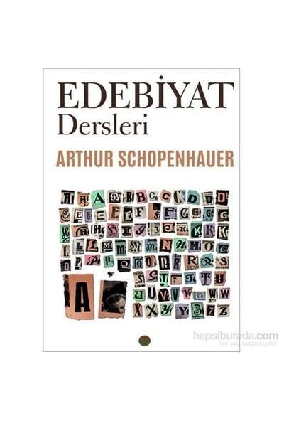 Edebiyat Dersleri-Arthur Schopenhauer