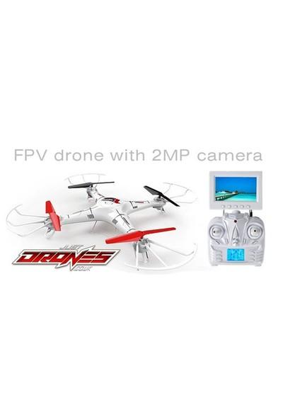 Lh-X6 2.4Ghz Kumandalı Quadcopter Drone Fpv Monitörlü