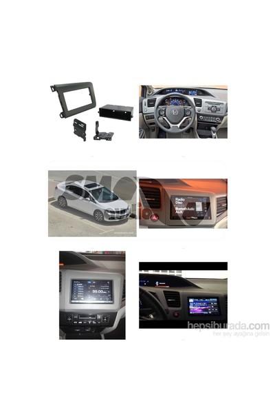 Honda Civic Sedan 2011-2015 Teyp Çerçevesi
