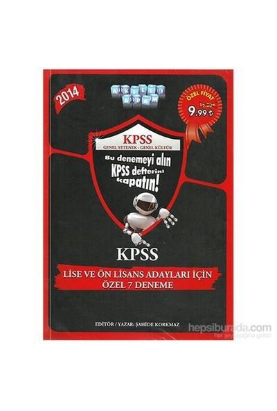 Akıllı Adam KPSS 2014 Lise Ve Önlisans Adaylar İçin Özel 7 Deneme