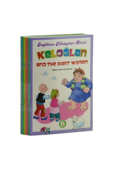 Keloğlan Seti (10 Kitap Takım) (English Stories With Exercise)-Mustafa Ziyalan