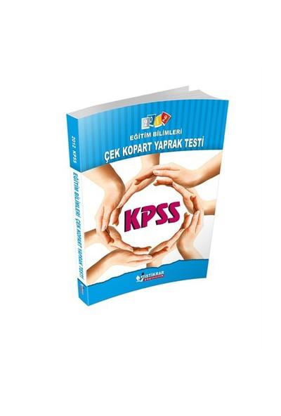 İstikrar KPSS Eğitim Bilimleri Çek Kopart Yaprak Testi