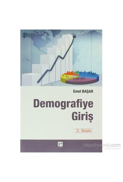 Demografiye Giriş-Emel Başar