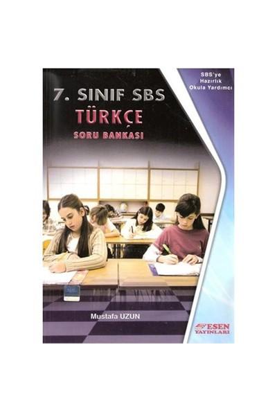 Esen Yayınları 7. Sınıf Türkçe Soru Bankası - Mustafa Uzun