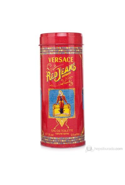 Versace Red Jeans Edt 75 Ml Kadın Parfüm