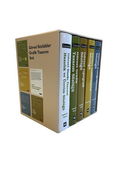 Görsel Sözlükler Grafik Tasarım Seti (5 Kitap)-Paul Harris