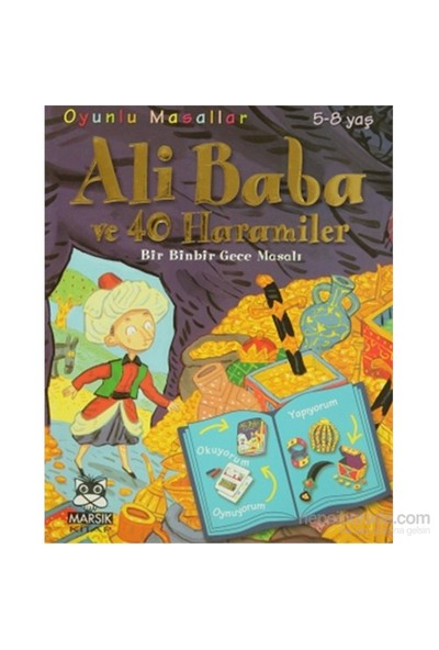 Oyunlu Masallar - Ali Baba Ve 40 Haramiler-Marie Emmanuelle Lips