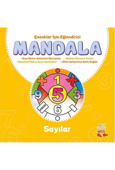 Çocuklar İçin Eğlendirici Mandala: Sayılar-Kolektif